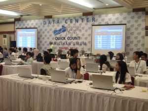 sewa Sound System di jakarta quick count